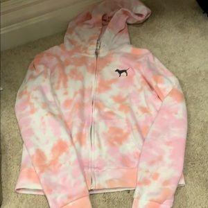Pink Tye Dye Hoodie